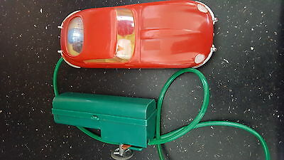 Vintage 1960s Plastic Remote Controlled Toy Car