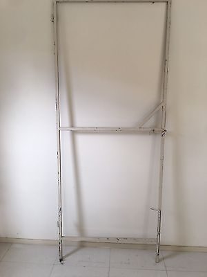 STEEL VERY TALL HOUSE GARAGE FENCE GATE FRAME 2255x920mm (W) 25x25 Tubing