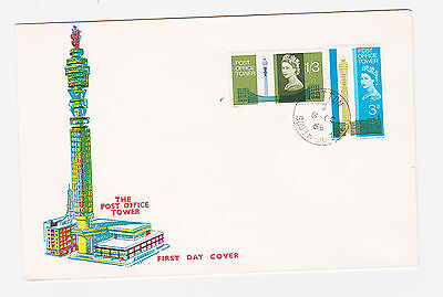 ref. 3536 FIRST DAY COVER POST OFFICE TOWER TOTTEN CDS 1965