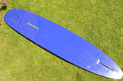 Nobrand Tuflite 9'2 surfboard. Longboard by surftech. Noserider.