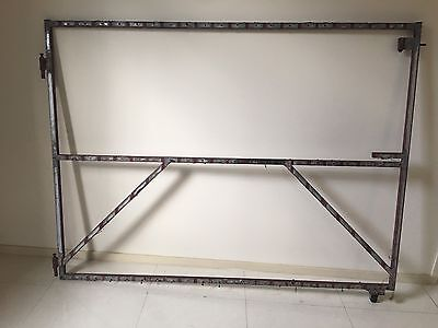 STEEL WIDE HOUSE GARAGE FENCE GATE FRAME 1300x1735mm (W) 25x25 Tubing