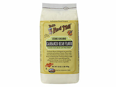 Gluten Free Garbanzo Bean Flour 4/16oz Bob's Red Mill BULK