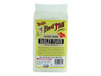 Stone Ground Barley Flour 4/20oz Bob's Red Mill BULK