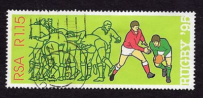 1995 South Africa 1.15R World cup Rugby SG877 FINE USED R33019