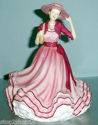 Royal Doulton KATE Pretty Ladies Figurine Pink Hat HN5527 New In Box