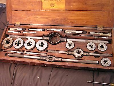 Antique Conant & Donelson Reliable Screw Cutting Tools Tap and Die Set -1903