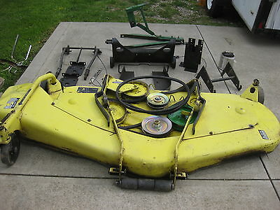 John Deere 750 850 950 72 Inch Belly Mower Mowing Deck W/ Mounting Hardware