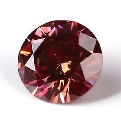 0.11 Cts Fancy Rare Sparkling Quality Red Color Natural Loose Diamond investment