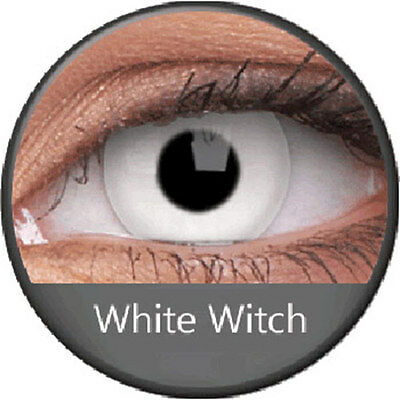 Lentilles White Witch WhiteOut Phantasee (annuelles)