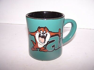 Warner Bros Studio Store TAZ COFFEE MUG Tasmanian Devil Green