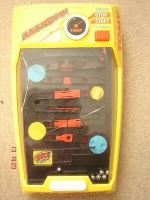 Vintage TOMY AAAAGHH! Battery Handheld Game Retro working
