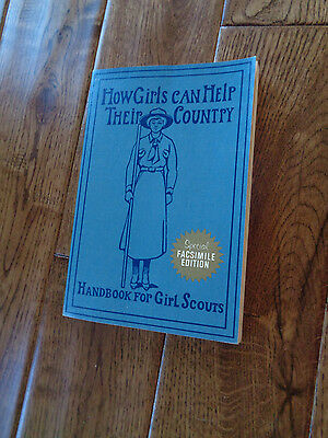Handbook For Girl Scouts How Girls Can Help Their Country Facsimile Ed 1972 60Th
