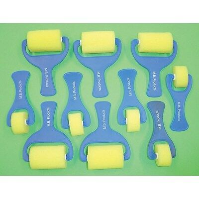 Major Brushes Smooth Foam Rollers Pack 10