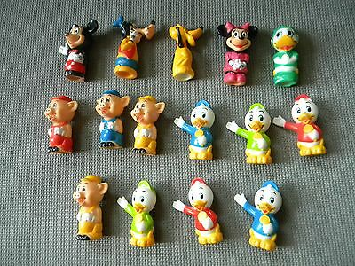 Vtg 1986 Disney Mickey Mouse Playmates Train Set Replacement Figures