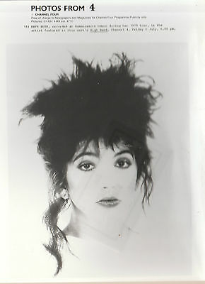 "KATE BUSH UK 100% OFFICIAL 8"" x 7"" (APPROX) BLACK & WHITE PROMOTIONAL PUBLICITY"