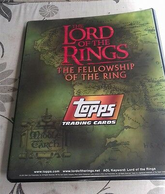 Lord of the Rings - The Fellowship of the Ring (Topps Trading Cards) complete 90