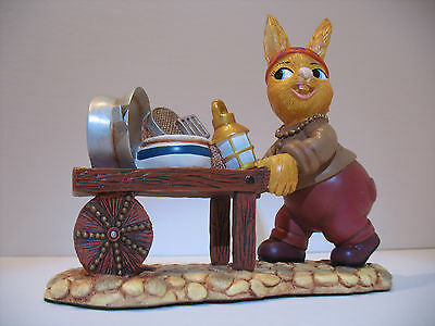 NEW Pendelfin Tinker  figurine rabbit Bunny w/ Box