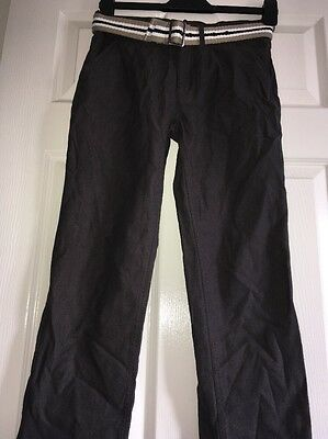 Boys Belted Trousers Age 12