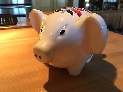 Vintage Stangl Art Pottery Pig Piggy Bank FREE SHIPPING