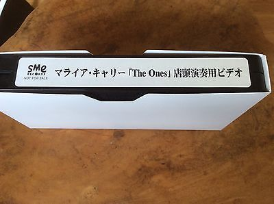 Mariah Carey - The Ones Advert - Japanese Promo Only Video - EXTREMELY MEGA RARE