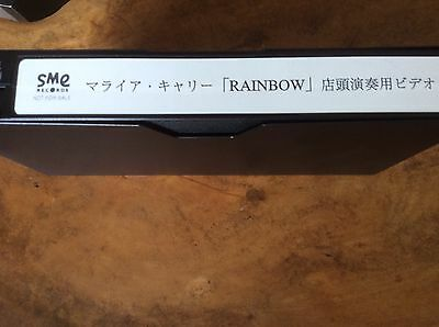 Mariah Carey - Rainbow Advert - Japanese Promo Only Video - EXTREMELY MEGA RARE