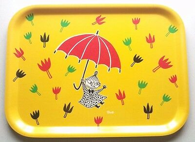 MOOMIN TRAY - NEW Little My Umbrella Muurla Birch Wood Scandinavian Design