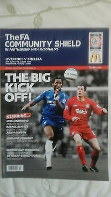 Liverpool  v  Chelsea Community Shield  2006
