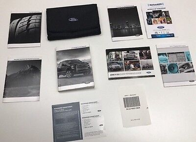 Ford F-150 2016 Owners Manual Books -- In Case // Free Shipping//