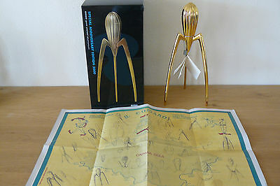 Alessi juicy salif GOLD Special Anniversary Edition 2000 GD Phlippe Starck