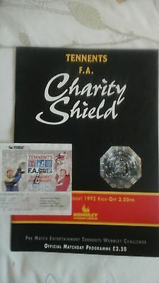 Liverpool  v  Leeds United   Charity Shield  1992