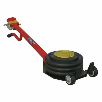 Sealey PAFJ3 Premier Air Operated Fast Jack 3tonne Three Stage - Long Handle