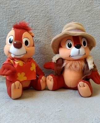 Chip and Dale Buddies Rescue Rangers Plush Stuffed Animal Toy Chipmunks Disney