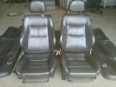 Vauxhall Astra G Mk3 Coupe Leather Interior Seats + Door Cards 99-04