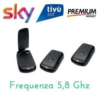 RIPETITORE AUDIO/VIDEO SENZA FILI 5,8 GHz PRESA SCART