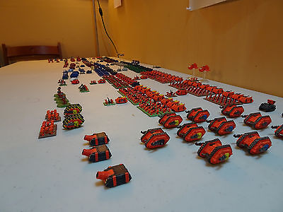 Epic 40K Space Marine Chapter 1100+ marines and 190+ tanks/bikes etc