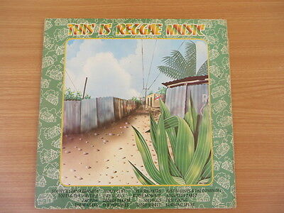 This Is Reggae Music ~ Compilation - Uk Island Double Lp Album - 1976