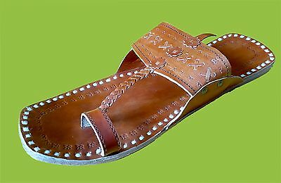 mens slippers tan leather slippers shoes handmade leather kolhapuri slippers