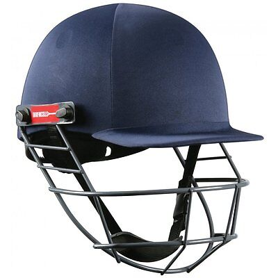Gray-Nicolls Atomic Cricket Batting Helmet (Navy), Small 54-56cm