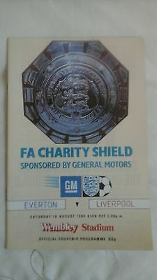 Liverpool  v  Everton   Charity Shield  1984