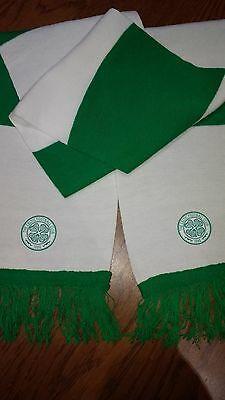 Green And White Celtic Bar Scarf