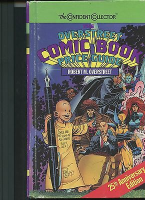Overstreet Comicbook Price Guide 25th Anniversary Edition