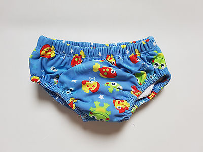 M&Co Baby Boys Reusable Swim Nappy  Size 6-12 Months