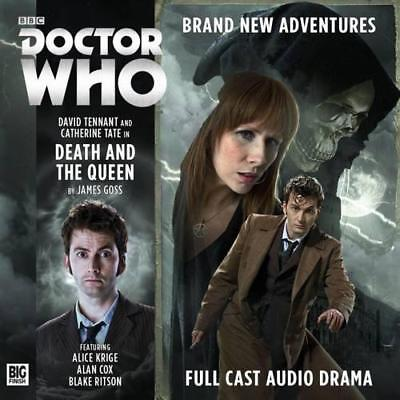 The Tenth Doctor: Death and the Queen (Doctor Who) by Goss, James | Audio CD Boo