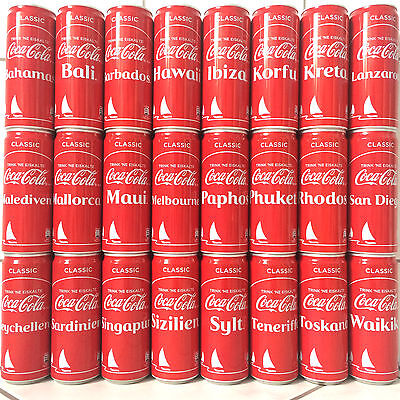 Coca Cola 330 ml Summer Set 2017 Germany 24 Cans Blikje Boite Lattine Dosen Coke