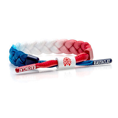 Rastaclat Glory 2.0 Red White Blue USA Flag Freedom Shoelace Bracelet RC001GLRY2