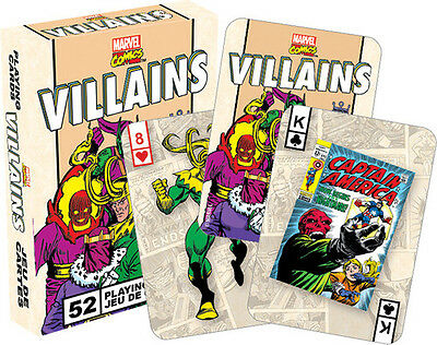 Marvel Villains Retro Playing Cards Deck - Misc