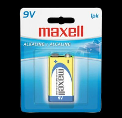 Maxell 9 Volt Alkaline Single Pack Battery(6Lf22) - Accessories