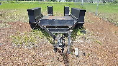 Double Axle Utility Trailer Suitable For Bobcat Or Ditchwitch Equipment