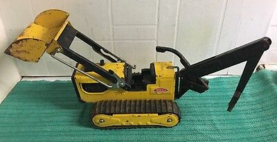 tonka toy T-6 vintage yellow digger 70's - NOT Complete