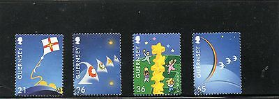 Sg 863-6 Guernsey Europa  Very Fine Used Set